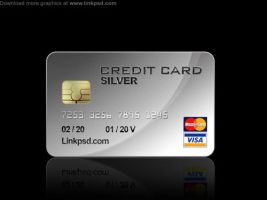 Credit Card PSD file by mizie2009