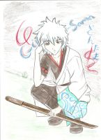 Gintama: Gintoki by AlienaxD