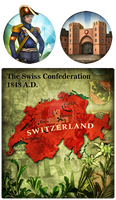 Civ 5 Mod Art - Switzerland by JanBoruta