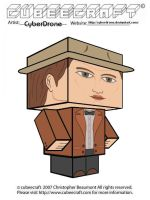 Cubeecraft - 11th Doctor 'Ver4 by CyberDrone