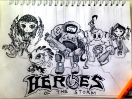 Heroes of the storm by leon1999zhang