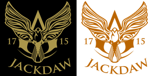 Assassin's Creed 4 Black Flag - Jackdaw logo by ceekaysickART