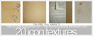 20 textures - old paper 2 by yunyunsarang