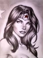 WONDER WOMAN !!! by carlosbragaART80