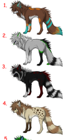 8-10 Point Wolf Adopts CLOSED by Pineaapple