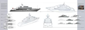 Yacht exterior design by dreadwardo