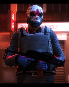 Sokol - Payday 2 by Entertain3r