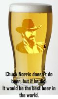 Chuck Norris Doesn't Do Beer by CaseyTheHedgehog