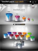 Buket Paint Icons by gomez-design