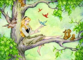 Afternoon With Briar Rose by ShannonValentine