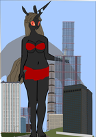 Oh dear Queen Bontia your quite tall for your age by OceanRailroader