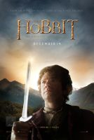 The Hobbit bilbo poster #2 by crqsf