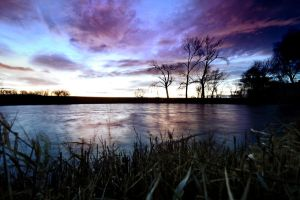 Early evening blues by tomsumartin