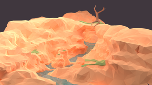 Low Poly Canyon by Vermacian55