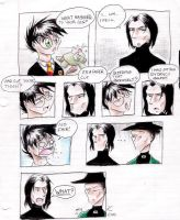 Snape Comic by Mistress-D