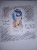 I was so scared to lose you by Honey-PawStep