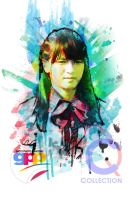 Vienny JKT48 Team K Gad's Photo Painting by Muhammadtaufiq123