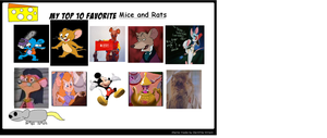 K-dog0202's Top Ten Favorite Mice and Rats by K-dog0202