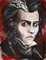Sweeney Todd by BowieKelly