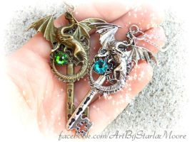 Dragon Lover's Keys 2 by ArtByStarlaMoore