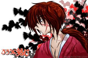 Kenshin Himura by Cl0ver