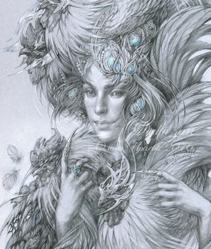 Lady Chanticleer by DalfaArt