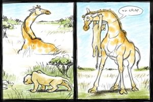 How to Take Down a Giraffe by larkinheather
