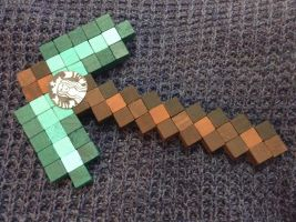 Hipster Koots' pickaxe irl by TheArtSharki