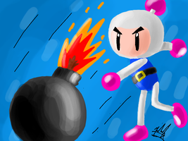 Bomberman Bomb by SailorBomber