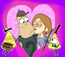 .:. Soos And Melody .:. by Rise-Of-Majora