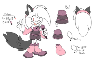 Melody Liller Redesign/Reference by SkywaySky