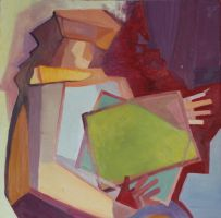 Abstract woman by Alleria