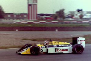Nigel Mansell (Great Britain Tyre Test 1987) by F1-history