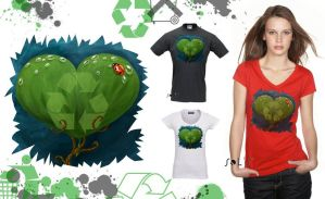 I care... i-Tee's ECO contest by LadyMartina