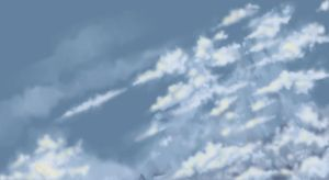 Cloud Study by Green-Jet