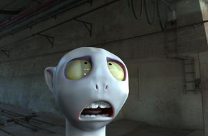 Zbrush doodle day 279 - Ineffectual Voldemort by UnexpectedToy