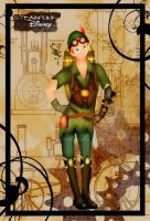 Steampunk Peter Pan by HelleeTitch