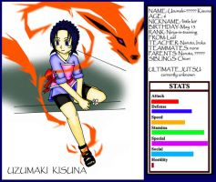 Uzumaki Kisuna stat files by AnimeFan-Artemis