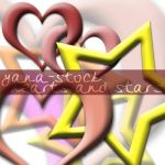 Hearts and Stars - PNGs by yana-stock
