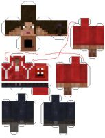 Papercraft Zoey template by Notason89