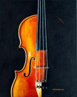 Violin by byMichaelX