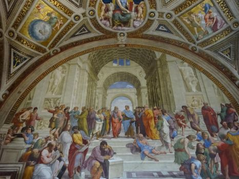 school of athens by raphael analization Here, i analyse the school of athens raphael's masterpiece the context is everything, and the fact that the school of athens formed part of the pope's priv.