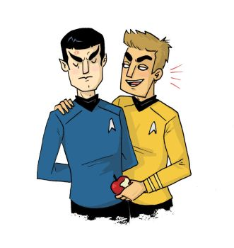 Spock sketch request by TRAVALE