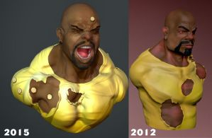 LukeCage years gap by Dauriemma