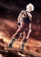 super saiyan!(retouched version) by spadjm