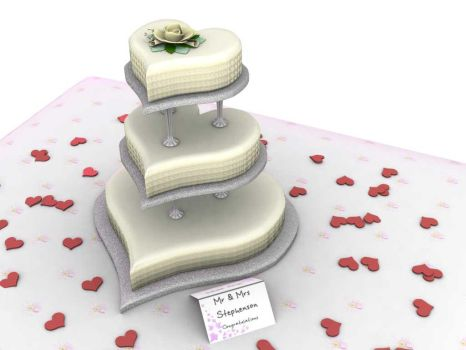 Wedding Cake by Mikklings