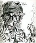 Burgess Meredith by JayEmJay
