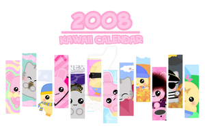 2008 Kawaii Calendar - COVER by LadyMascara