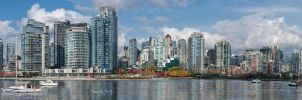 Downtown Vancouver South End I by tt83x