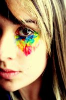 Technicolor Eyes. by Luv-Addict